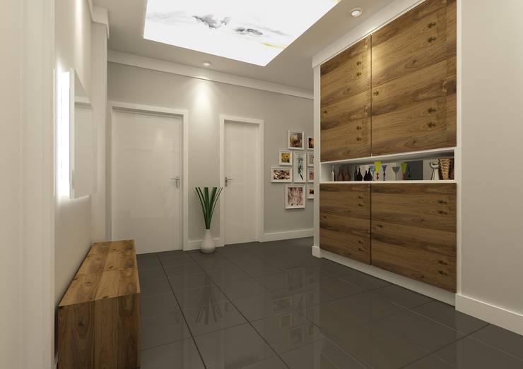 PRATIKIZ Mimarlık/ Architecture – Hol: modern tarz Koridor, Hol & Merdivenler