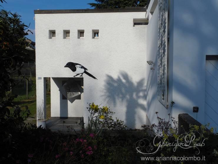 Maisons de style de style Moderne par Ghirigori Lab di Arianna Colombo