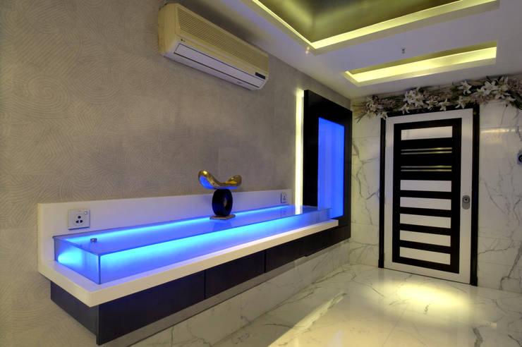 ARK Reza Kabul Architects Pvt. Ltd.의  복도 & 현관
