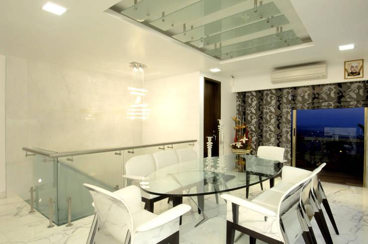 ARK Reza Kabul Architects Pvt. Ltd.의  다이닝 룸