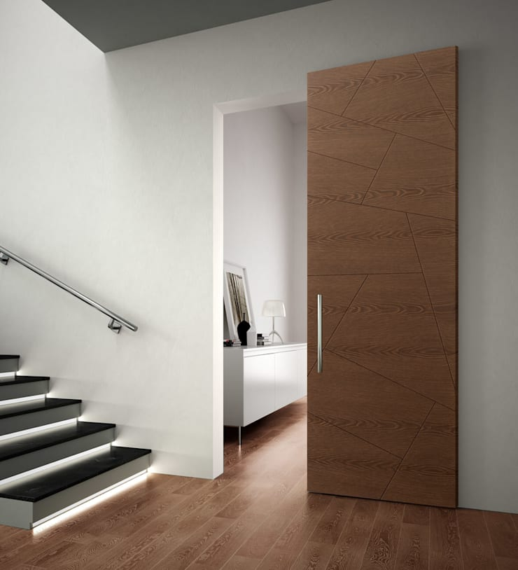 Corridor & hallway by Romagnoli Porte, Modern