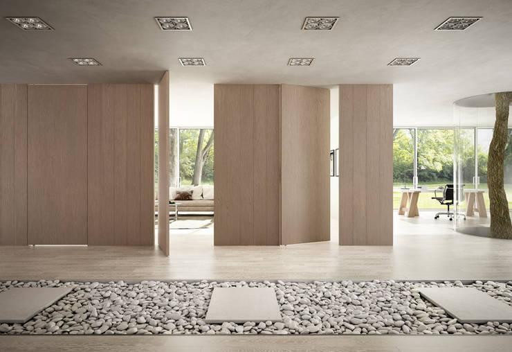 Living room by Romagnoli Porte, Modern