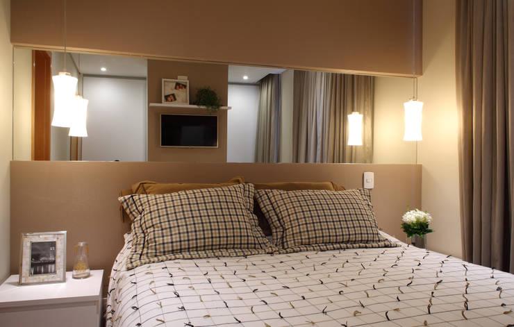 Projekty,  Sypialnia zaprojektowane przez Studio 262 - arquitetura interiores paisagismo