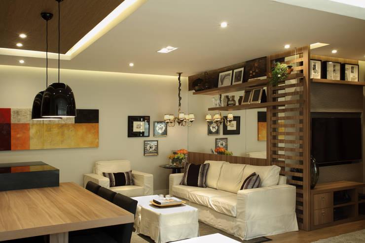 Livings de estilo  por Studio 262 - arquitetura interiores paisagismo
