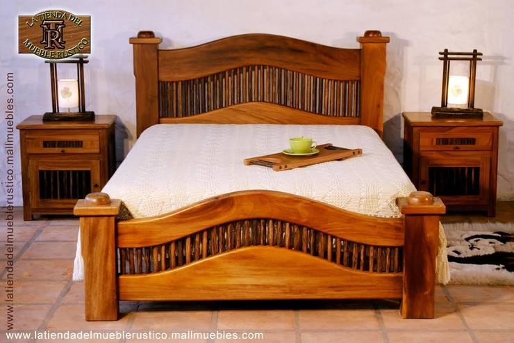 Muebles Rústicos: Dormitorios de estilo  por la tienda del mueble rustico