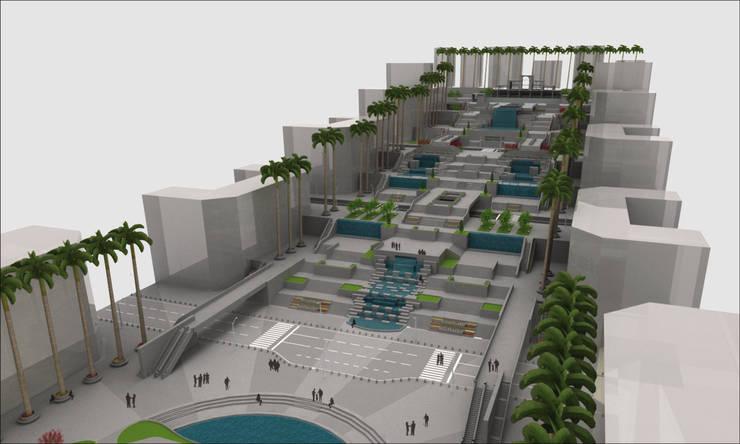Propuesta Arquitectónica para Caracas:  de estilo  por Urbanográfica