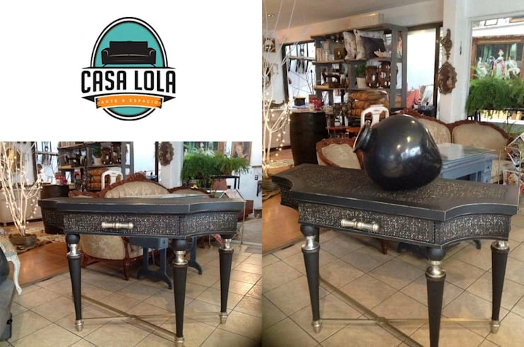 Muebles Casa Lola: Salas de estilo  por jaberr7025
