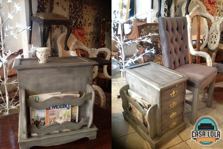 Muebles Casa Lola: Recámaras de estilo  por jaberr7025
