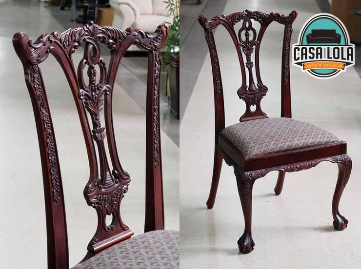 Muebles Casa Lola: Comedor de estilo  por jaberr7025