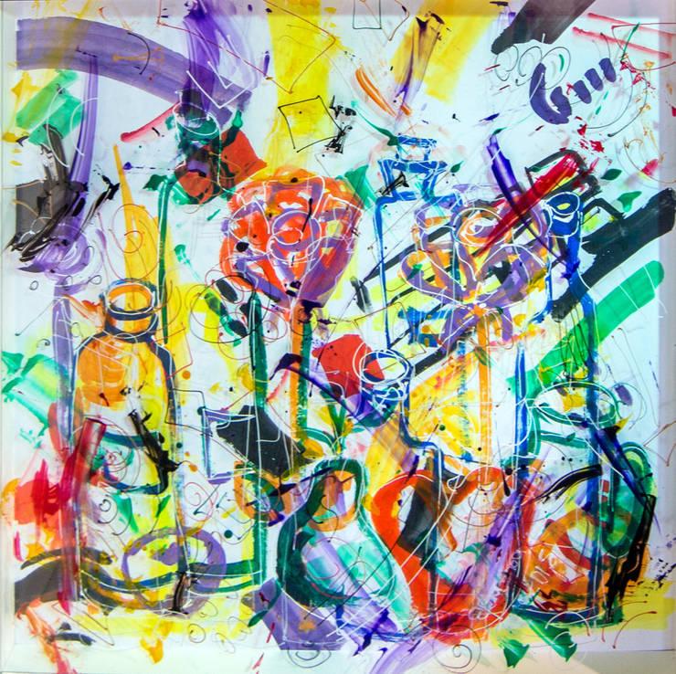 Pinturas artistas nacionales e internacionales: Arte de estilo  por Expresarte Galeria