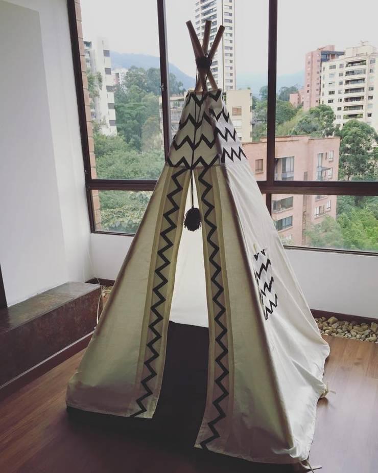 Teepee & Textiles: Hogar de estilo  por Maka concept,