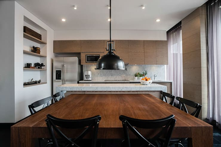 Dining room by SAU Arquitectos