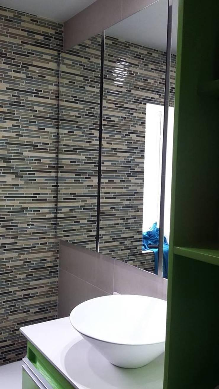 Remodelación Baño: Baños de estilo  por arquitecni_k, Moderno