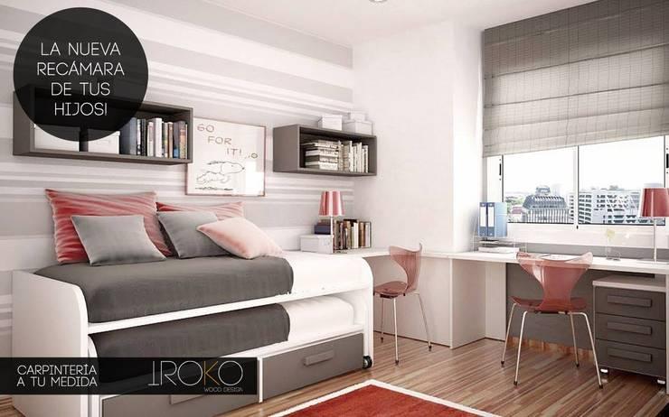 Iroko Wood Design: Habitaciones infantiles de estilo  por Iroko Wood Design