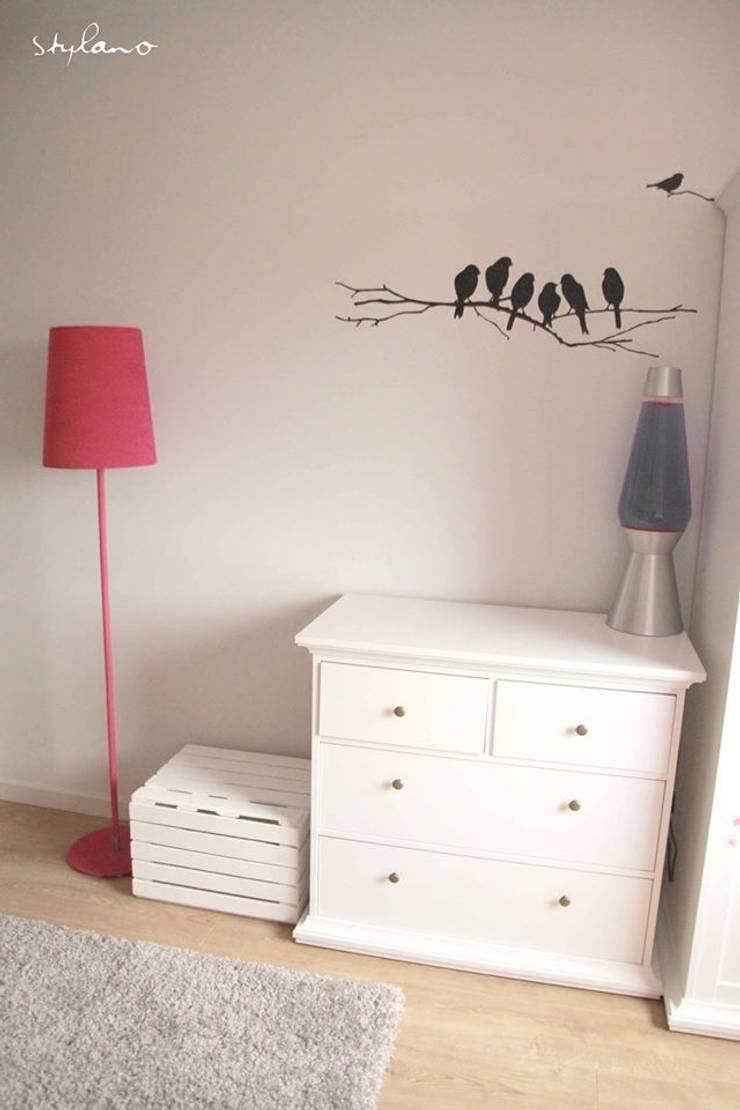 Pokój dziecięcy: styl , w kategorii Pokój dziecięcy zaprojektowany przez Stylano,Skandynawski