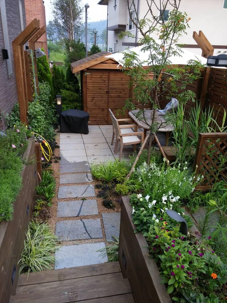 고향이 되어주는 정원: 푸르네의  정원