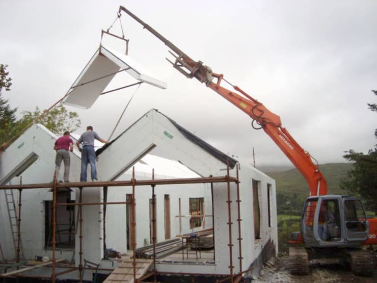 Passive Thermal Rapid Roof:  Houses by Passive Building Structures