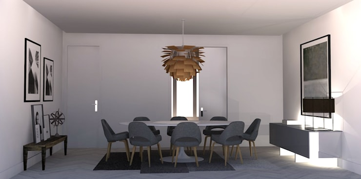 Dining room by Santiago | Interior Design Studio