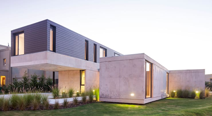 Vivienda Unifamiliar: Casas de estilo  por ACArqs