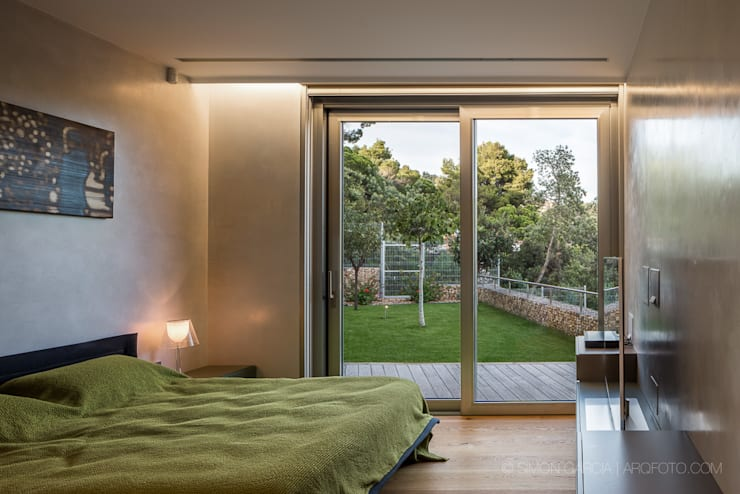 Casas modernas por Simon Garcia | arqfoto