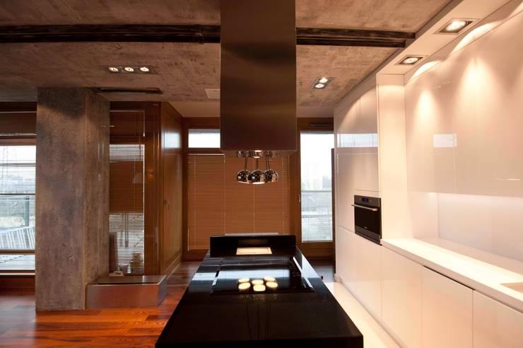 19 Dzielnica: styl , w kategorii Kuchnia zaprojektowany przez FusionDesign,Nowoczesny Płyta OSB