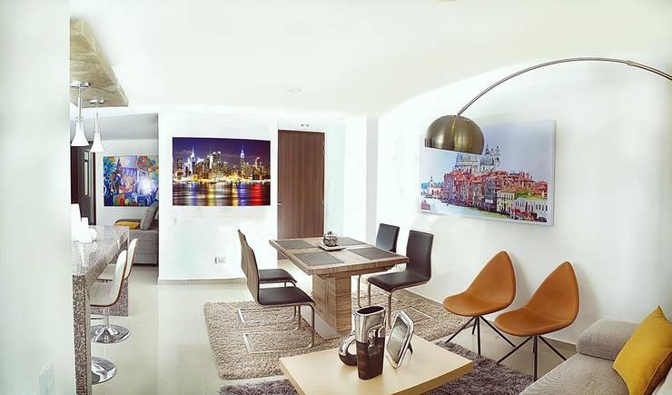 Proyectos: Comedores de estilo moderno por Medina Arquitectos