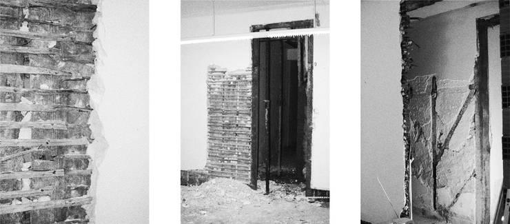 Apartamento no Restelo: Paredes  por phdd arquitectos