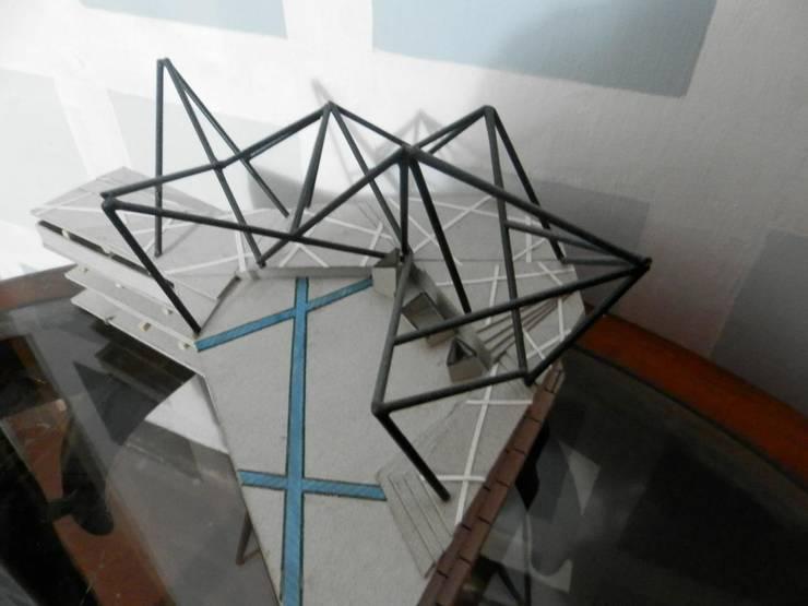 Maquetas realizadas por Jesús Ruiz:  de estilo  por HArq Hechos Arquitectonicos, C.A