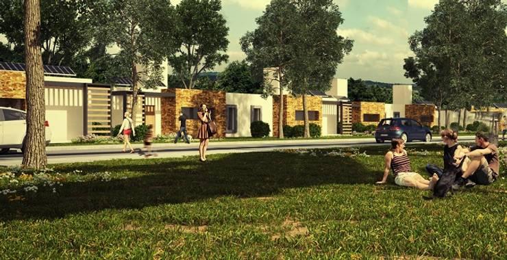 El primer barrio bioclimático de Argentina:  de estilo  por NotiArq