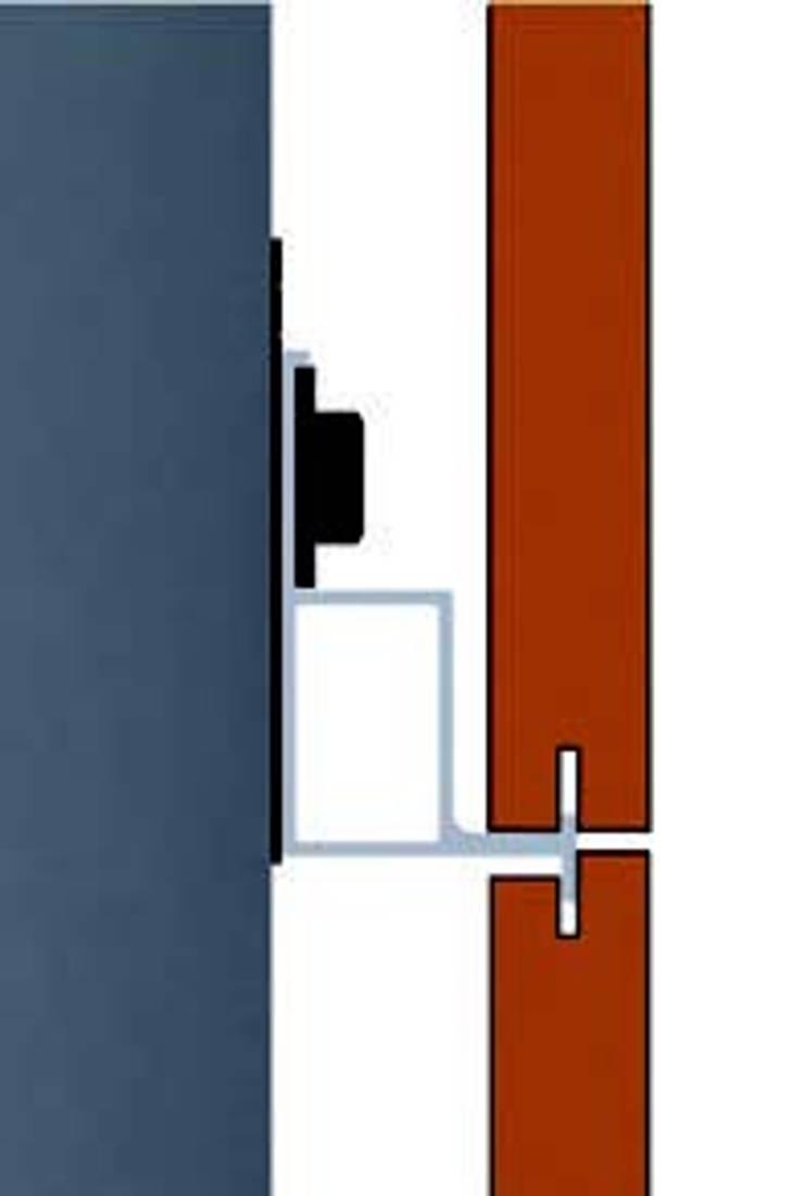 Fachadas Ventiladas:  de estilo  por E-tools C.A.