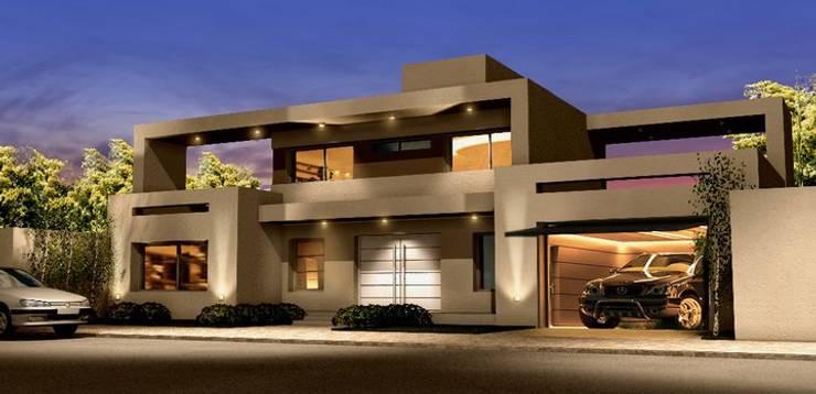 Proyectos creados por Arquistudio: Casas de estilo  por arquistudio