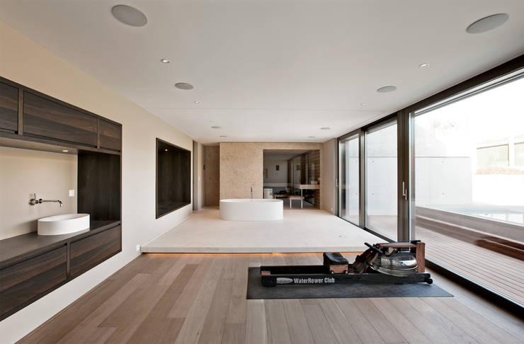 Projekty,  Łazienka zaprojektowane przez meier architekten