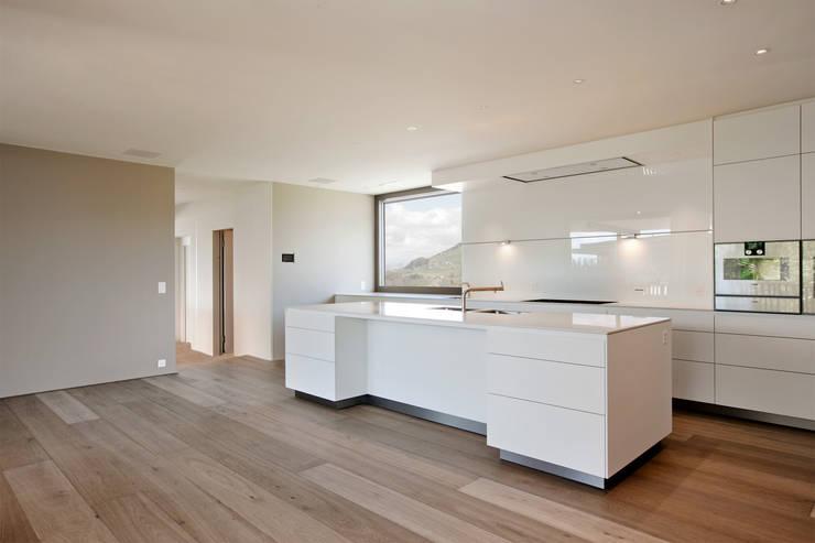 Projekty,  Kuchnia na wymiar zaprojektowane przez meier architekten