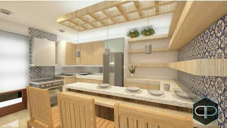 Proyectos: Cocinas de estilo  por Perfil Arquitectura