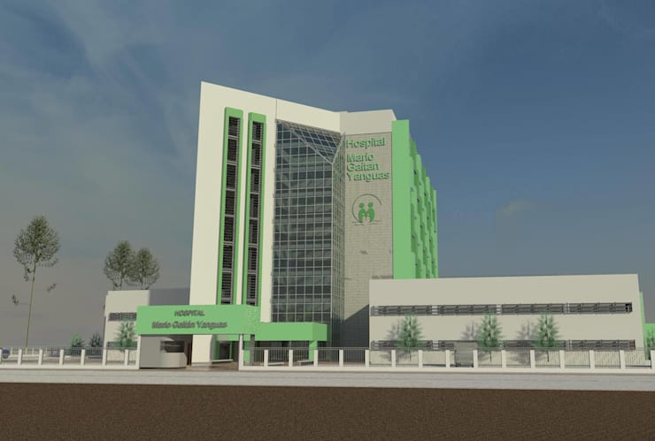 Arquitectura Hospitalaria:  de estilo  por Mas Arquitectura Hospitalaria S.A.S-