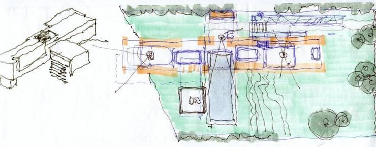 Casa en Barrio Gamma:  de estilo  por aercole