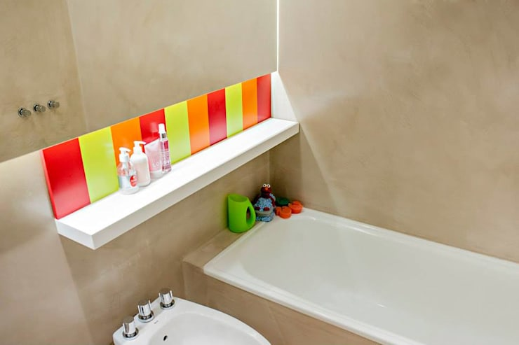 modern Bathroom by Feller Herc Arquitectura