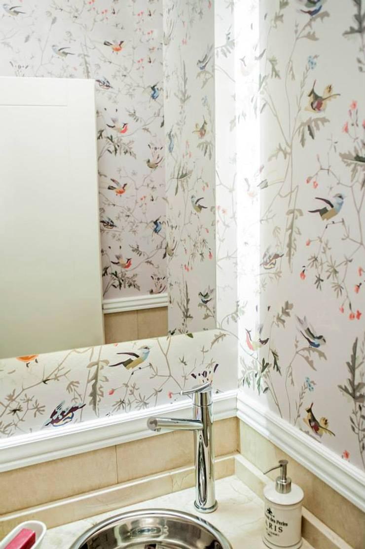 Salle de bains de style  par Feller Herc Arquitectura, Moderne