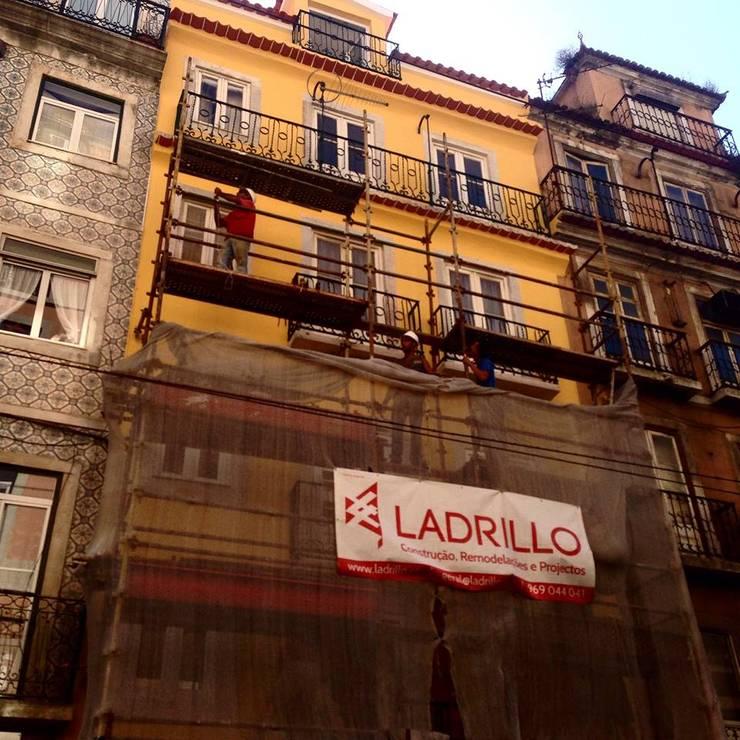 REABILITAÇÃO DE EDIFÍCIO NO CENTRO DE LISBOA:   por LADRILLO