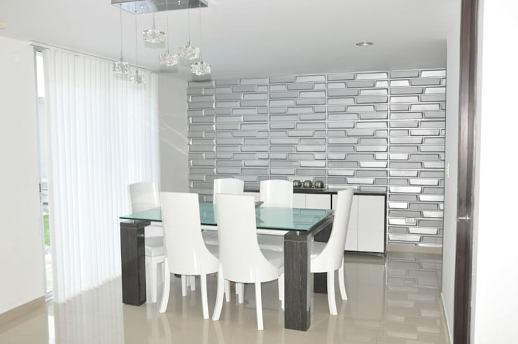 modern Dining room by Decoespacios
