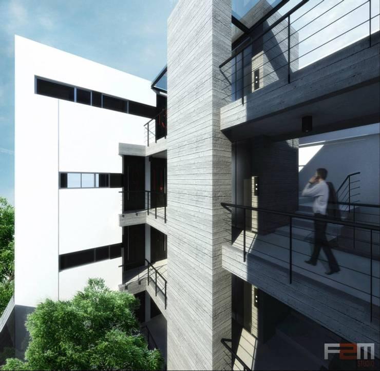 F2M Trabajos:  de estilo  por F2M Arquitectos