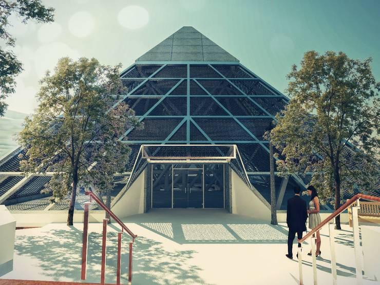 Trabajos de Samuel Mendoza: Casas de estilo moderno por Laboratorio 3d