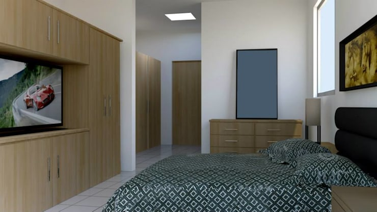 Bedroom by visioncreativaarquitectos,