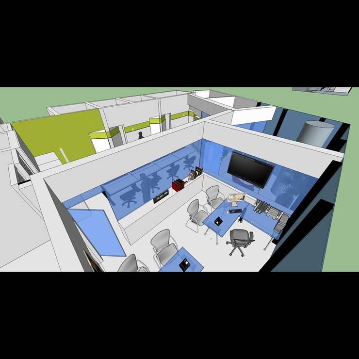 Oficina Mangia:  de estilo  por Proyectos MAF