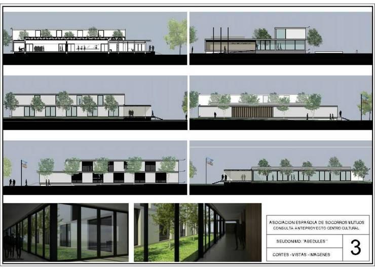 Primer Premio Concurso Privado:  de estilo  por Alexis Dawidowicz Arquitecto / AD Arquitectura