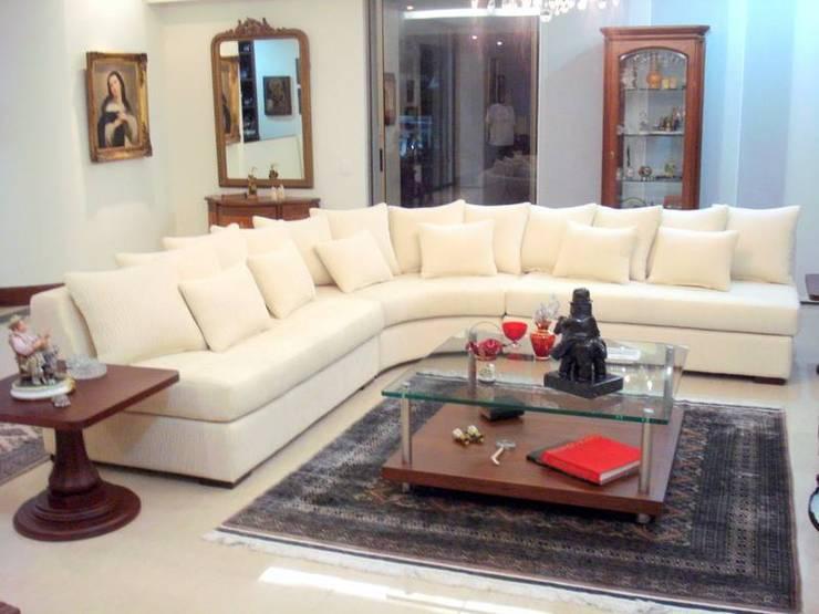 Trabajos de diseño: Salas de estilo moderno por MARTHA SOFIA CASTELLANOS T.