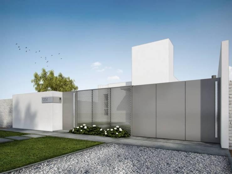 Casa MZ: Casas de estilo  por LATERAL Arquitectos