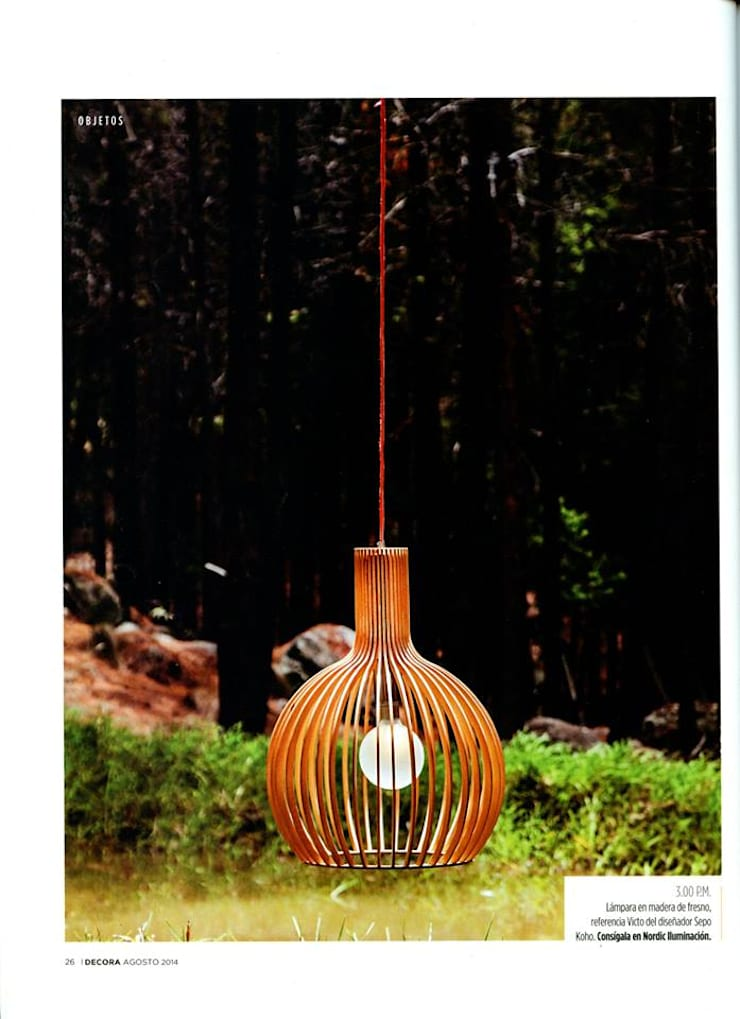 iluminación:  de estilo  por NORDIC ILUMINACION SAS., Moderno