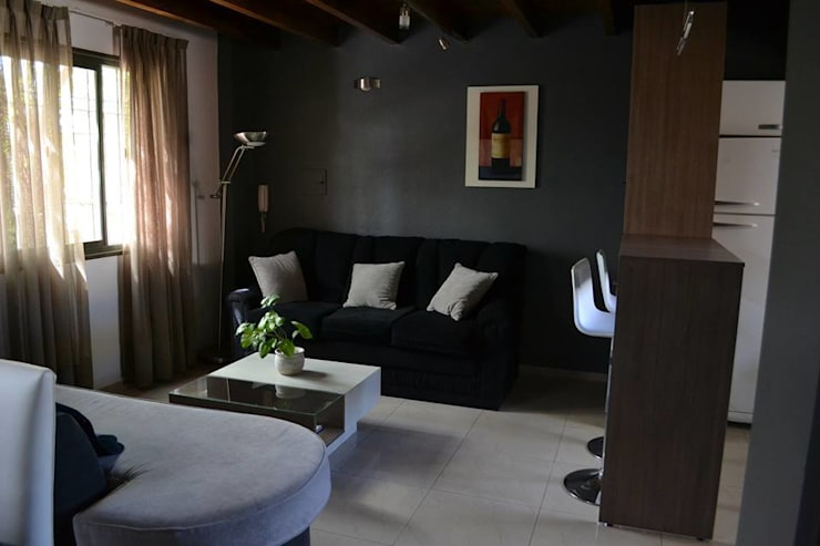 Muebles para Loft: Livings de estilo  por dis.noeliabeltrame