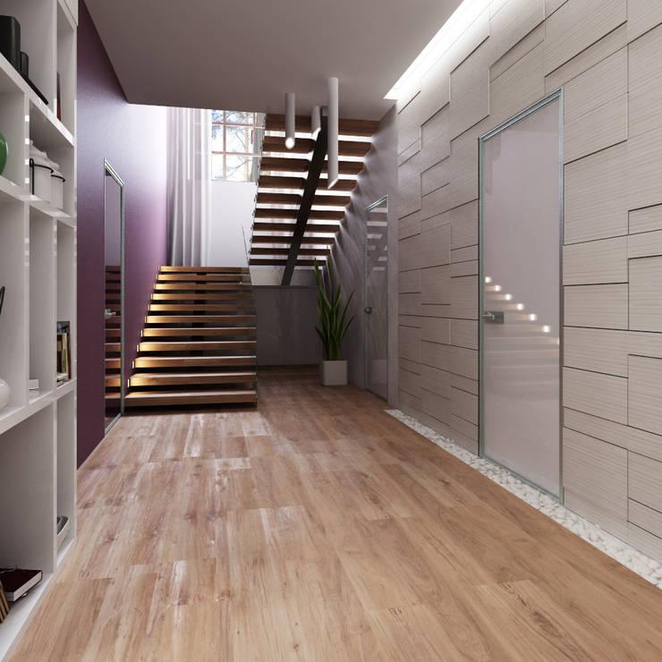 الممر والمدخل تنفيذ A-partmentdesign studio